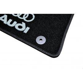 AVTM Коврики в салон текстильные Audi Q7 I '05-15 Черные (Комплект 5шт.)