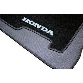 AVTM Коврики в салон текстильные Honda Civic VIII '06-11 седан Черные (Комплект 3шт.)