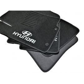 AVTM Коврики в салон текстильные Hyundai Accent IV '10-17 Черные (Комплект 5шт.)