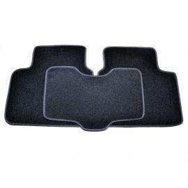 AVTM Коврики в салон текстильные Hyundai Sonata YF '09- Черные (Комплект 5шт.)