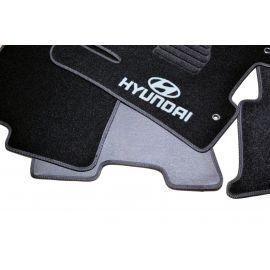AVTM Коврики в салон текстильные Hyundai Tucson (TL) '15- Черные (Комплект 5шт.)