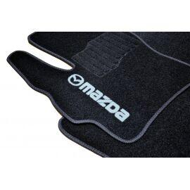 AVTM Коврики в салон текстильные Mazda 3 (BK) I '03-09 Черные (Комплект 5шт.)