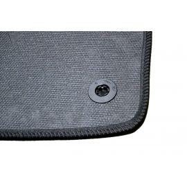 AVTM Коврики в салон текстильные Mercedes-Benz CLS-Class C219 '04-10 [задний привод] Черные (Комплект 5шт.)