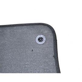 AVTM Коврики в салон текстильные Mercedes-Benz GL-Class X166 '12- Черные (Комплект 5шт.)