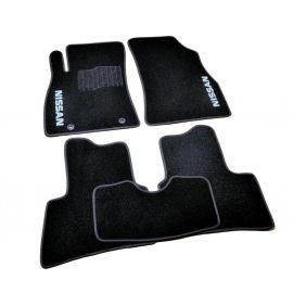 AVTM Коврики в салон текстильные Nissan Juke '10- Черные (Комплект 5шт.)