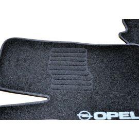 AVTM Коврики в салон текстильные Opel Astra G '98-04 Черные (Комплект 5шт.)