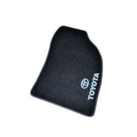AVTM Коврики в салон текстильные Toyota Auris I '07-12 Черные (Комплект 5шт.)