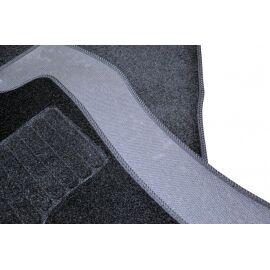 AVTM Коврики в салон текстильные Toyota Auris II '12- Черные (Комплект 3шт.)