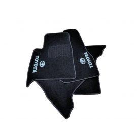 AVTM Коврики в салон текстильные Toyota Land Cruiser 100 '98-07 Черные (Комплект 5шт.)