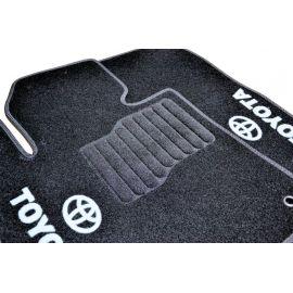 AVTM Коврики в салон текстильные Toyota Land Cruiser 200 '07- Черные (Комплект 3шт.)