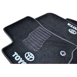AVTM Коврики в салон текстильные Toyota Land Cruiser Prado 150 '13- Черные (Комплект 5шт.)