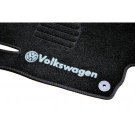 AVTM Коврики в салон текстильные Volkswagen Golf V '03-08 Черные (Комплект 5шт.)