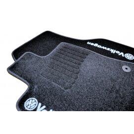 AVTM Коврики в салон текстильные Volkswagen Golf VII '12- Черные (Комплект 5шт.)