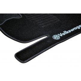 AVTM Коврики в салон текстильные Volkswagen Jetta VI '10- Черные (Комплект 5шт.)