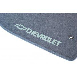 AVTM Коврики в салон текстильные Chevrolet Lacetti '02- Серые (Комплект 5шт.)
