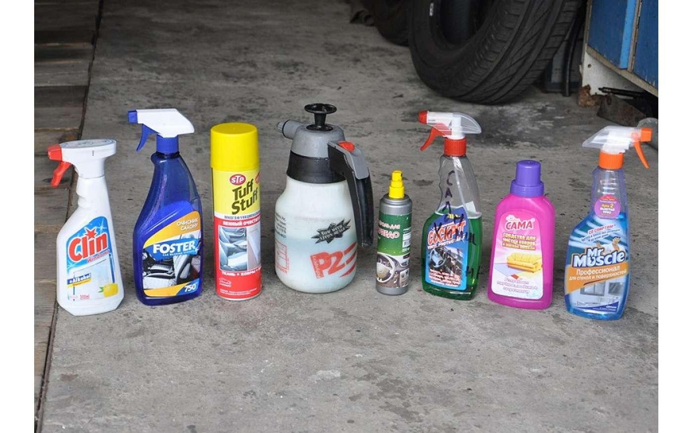 Почистить потолок автомобиля своими руками
