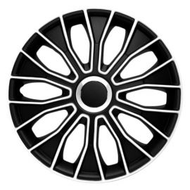 4 RACING Voltec Black&White R15 КОЛПАКИ ДЛЯ КОЛЕС (Комплект 4 шт.)