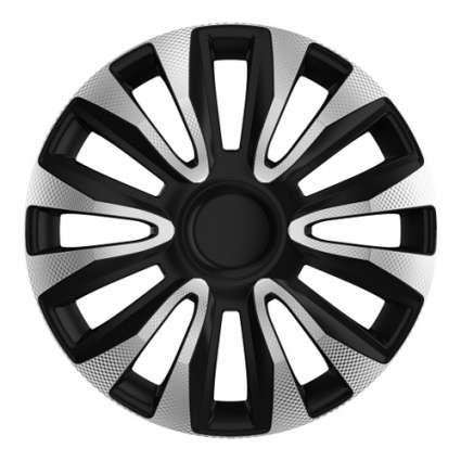 4 RACING Avalon Carbon Silver&Black КОЛПАКИ ДЛЯ КОЛЕС (Комплект 4 шт.)