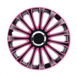 4 RACING Le Mans Pro Pink&Black R13 КОЛПАКИ ДЛЯ КОЛЕС (Комплект 4 шт.)