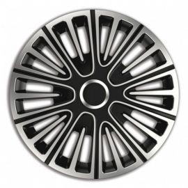 4 RACING Motion Silver&Black R15 КОЛПАКИ ДЛЯ КОЛЕС (Комплект 4 шт.)