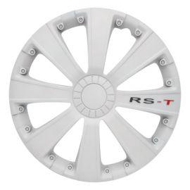 4 RACING RST WHITE R16 КОЛПАКИ ДЛЯ КОЛЕС (Комплект 4 шт.)