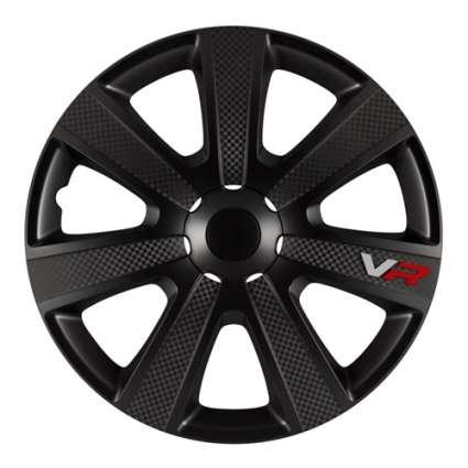 4 RACING VR Carbon Black R13 КОЛПАКИ ДЛЯ КОЛЕС (Комплект 4 шт.)