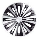 J-TEC Multi Silver&Black R15 Колпаки для колес (Комплект 4 шт.)
