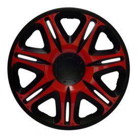 J-TEC NASCAR RED BLACK R13 КОЛПАКИ ДЛЯ КОЛЕС (Комплект 4 шт.)