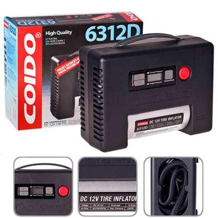 COIDO 6312D Компрессор автомобильный одноцилиндровый