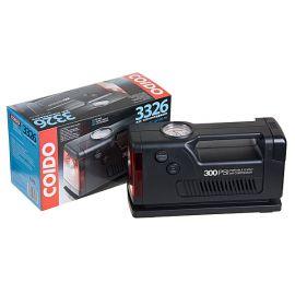 COIDO 3326 Компрессор автомобильный одноцилиндровый