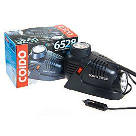 COIDO 6528 Компрессор автомобильный одноцилиндровый