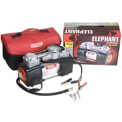 ELEPHANT КА-20125 Компрессор автомобильный двухцилиндровый