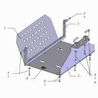 Kolchuga Защита радиатора на Ford Cargo '03-