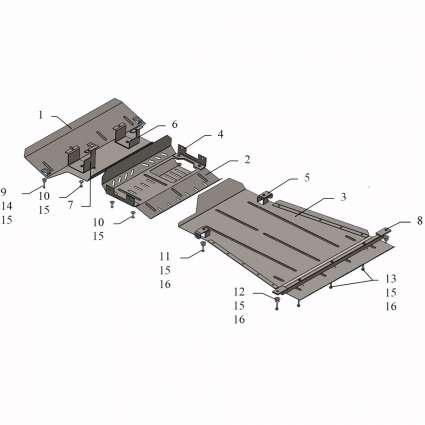 Kolchuga Защита двигателя, КПП, радиатора и рулевой тяги переднего моста на Suzuki Jimny JB '05-12