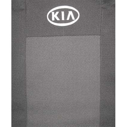 Чехлы в салон модельные для KIA Rio II '05-11 [сид-цельное] стандарт (комплект)