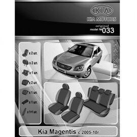 EMC-Elegant Antara Чехлы в салон модельные для KIA Magentis II '05-11 (комплект)