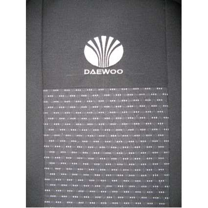 Чехлы в салон модельные для Daewoo Nexia '95- [горбы] стандарт (комплект)