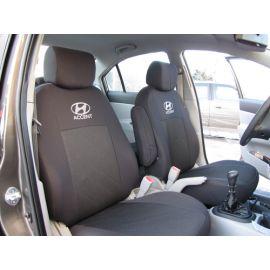 Чехлы в салон модельные для Hyundai Accent III '06-10 стандарт (комплект)