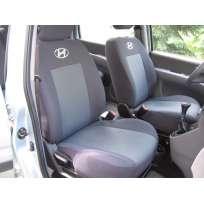 Чехлы в салон модельные для Hyundai Matrix '01-10 [п/спинка-вырез] премиум (комплект)