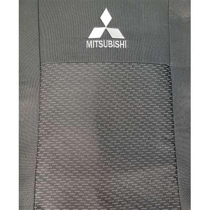Чехлы в салон модельные для Mitsubishi Lancer X '07- (V-2,0) стандарт (комплект)