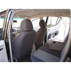 Чехлы в салон модельные для Mitsubishi L200 IV '06-15 стандарт (комплект)
