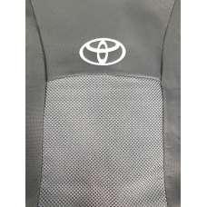 Чехлы в салон модельные для Toyota Corolla (E14/15) '06-12 бюджет (комплект)