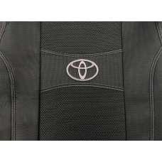 Nika Чехлы в салон модельные для Toyota Auris I '07-12 [разд/зад-сиденье] (комплект)