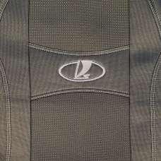Nika Чехлы в салон модельные для Lada Granta I '11- [седан/2 подг.] (комплект)
