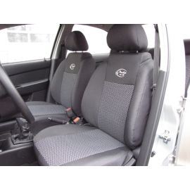 Чехлы в салон модельные для Chevrolet Aveo T200 '02-07 [hatchback/горбы] стандарт (комплект)