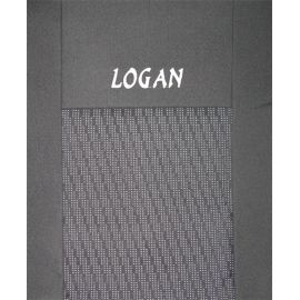 Чехлы в салон модельные для Renault Logan I '04-12 [sedan] бюджет (комплект)