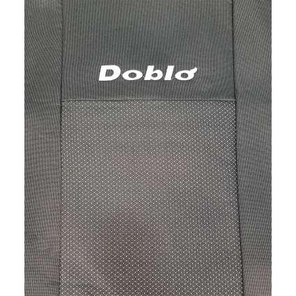 Чехлы в салон модельные для Fiat Doblo I '00-10 бюджет (комплект)