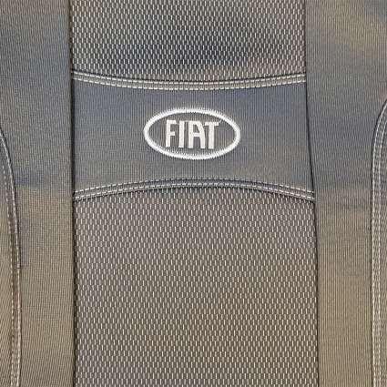 Nika Чехлы в салон модельные для Fiat Doblo II '10- [1+1] (комплект)