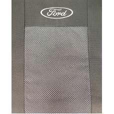 Чехлы в салон модельные для Ford Fiesta VI '02-08 бюджет (комплект)