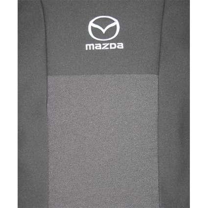 Чехлы в салон модельные для Mazda 3 (BK) '03-09 стандарт (комплект)